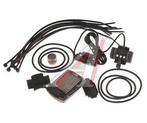 Велокомпьютер 9 функций проводной ECHOWELL черный U9, 4650066002744