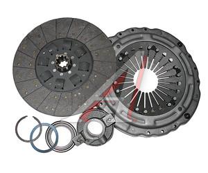 Сцепление ЯМЗ-238 лепестковое до 450л.с. (корзина,диск,муфта) ТМЗ РУБИН 184.1601090,