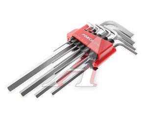 Набор ключей шестигранных 1.27-10мм удлиненных 10 предметов FORSAGE 5102L, FS-5102L