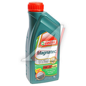 Масло моторное MAGNATEC A3/B4 синт.1л CASTROL CASTROL SAE5W40, 156E9D