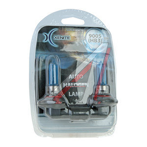 Лампа HB3/9005 12V 65W Super White блистер (2шт.) XENITE XENITE 9005, 1007040