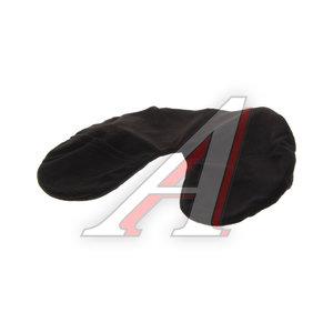 Подушка-воротник автомобильная надувная со съемным чехлом черная AUTOSTANDART 103603