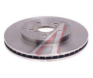 Диск тормозной LEXUS RX300,RX350,RX400 (03-) передний (1шт.) BREMBO 09.A109.10, DF4493, 43512-48081