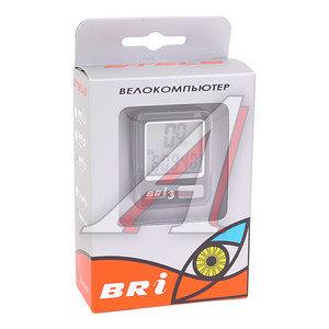 Велокомпьютер BRI-3 10 функций (серебристый/черный) BRI-3, 060009