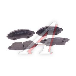 Колодки тормозные CHEVROLET Lanos (97-) передние (4шт.) HSB HP2005, GDB3265, 96281937