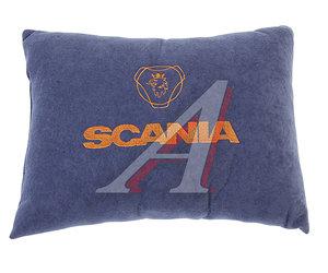 Подушка автомобильная SCANIA ткань синяя АВТОРЕАЛ Подушка SCANIA ткань синяя