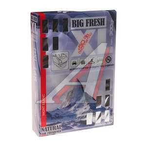 Ароматизатор под сиденье гелевый (Mont Blanc ) 300г Big Fresh XL FKVJP BXL-148 \Big Fresh, BXL-148