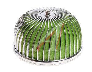 Фильтр воздушный PRO SPORT индукционный зеленый+хром D=70 RS-00762