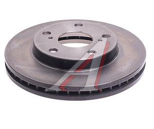 Диск тормозной TOYOTA Camry (CV2) передний (1шт.) TRW DF1430, 43512-33020/4312-33050