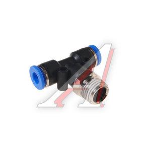 """Фитинг для пластиковых трубок 1/4"""" Т-образный 6мм с наружной резьбой ROCK FORCE RF-SPB06-02"""