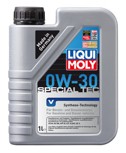 Масло моторное SPECIAL TEC VOLVO синт.1л LIQUI MOLY LM SAE0W30 2852