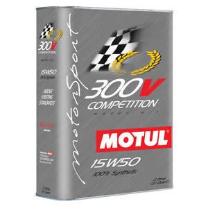 Масло моторное 300V COMPETITION синт.2л MOTUL MOTUL SAE15W50, 104244