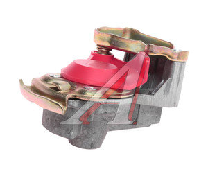 Головка соединительная тормозной системы прицепа 16мм (груз.автомобиль) красная без клапана БЕЛОМО 64226-3521113, 7492-352111300