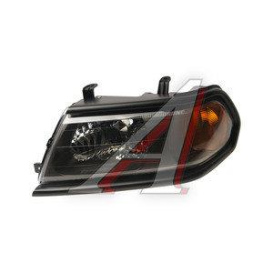 Фара MITSUBISHI Pajero Sport (00-) левая (под корректор) (черная рамка) TYC 20-B324-A5-6B, 114-1121L-LDEM2, MR566771*