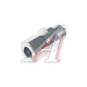Штуцер соединительный прямой M16х10мм (фитинг резьбовой-гайка) сталь HALDEX 032044509, 8938019940