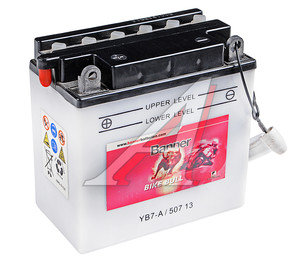 Аккумулятор BANNER Bike Bull 8А/ч 6СТ8 YB7-A 507 013 008