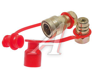 Головка соединительная тормозной системы прицепа 16мм (грузовой автомобиль) красная комплект NEW FER 100-3521010/11 (красная), АТ-370к/AT12381, 100-3521010