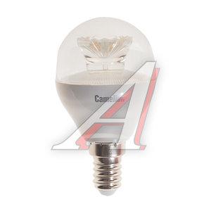Лампа светодиодная E14 G45 6.5W (60W) холодный CAMELION Camelion LED6.5-G45-CL/845/E14, 11932