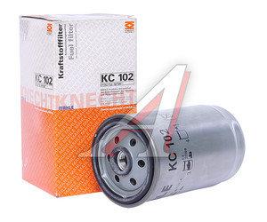 Фильтр топливный MAN (резьба М16х1.5мм) (слив болт) MAHLE KC102, 51125030040