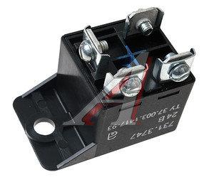 Реле электромагнитное 24V 4-х контактное с кронштейном АВАР 731.3747