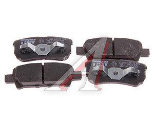 Колодки тормозные MITSUBISHI Lancer (03-), Outlander (03-), DODGE Caliber (06-) задние (4шт.) TRW GDB3341, MZ690187/4605A336