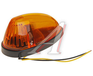 Фонарь габаритный LED 24V на кабину желтый (капля) АВТОТОРГ АТ-1521/ LED