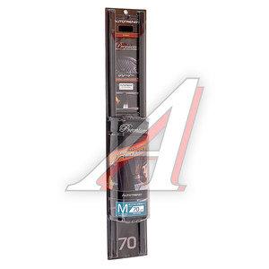Шторка автомобильная для боковых стекол 70см (M) роликовая черная 2шт. PREMIUM 1701331-175 BK