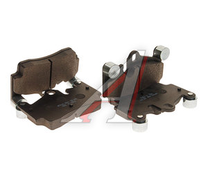 Колодки тормозные AUDI Q7 (06-10) задние (4шт.) HSB HP9662, GBD1653, 7L0698451