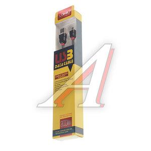 Кабель micro-USB 2м черный силиконовый LDNIO LS-022BK, LDNIO LS02