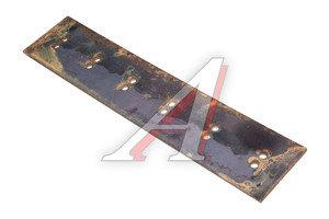 Нож ДТ-75 на отвал (прямой) 12-отверстий комплект 3шт. сталь 65Г (пружинная) 840х12х180,
