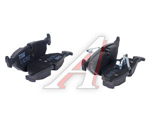 Колодки тормозные BMW E36, E46, Z4 E85, E86 задние (4шт.) TRW GDB1344, 34216778168