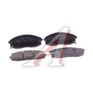 Колодки тормозные KIA Bongo 3 (06-) (2.9-J3) (1.4t) передние (4шт.) HSB HP1024, 58101-4EB00