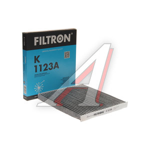 Фильтр воздушный салона TOYOTA Corolla (02-) угольный FILTRON K1123A, LAK157,