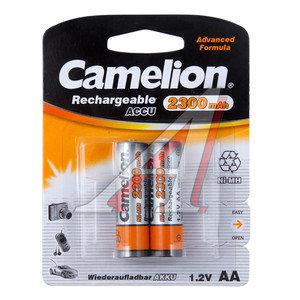 Батарейка AA HR6 1.2V аккумулятор Ni-MH 2300mAh блистер 2шт. CAMELION C-230AAKCбл