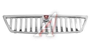 Решетка радиатора ГАЗ-3302,2217 хромированная+знак (ОАО ГАЗ) 3302-8401020-811, .АД3302-8401020-М