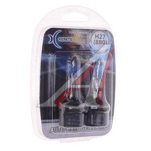 Лампа H27 12V 27W Super White блистер (2шт.) XENITE XENITE H27(880), 1007038