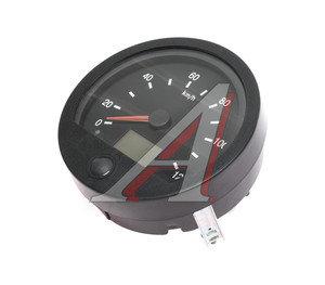 Спидометр МАЗ электронный (под датчик тахографа, круглая крышка) 24V ВЗЭП ПА 8141, ПА 8141-2