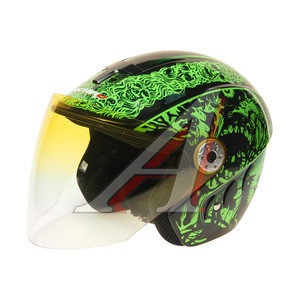 Шлем мото (открытый) MICHIRU Zombie MO 110 S, 4680329008053