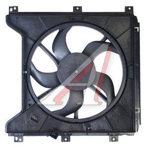 Вентилятор SSANGYONG Actyon (06-),Kyron (07-) охлаждения электрический в сборе OE 2132009052