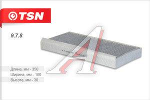 Фильтр воздушный салона FORD Focus угольный TSN 9.7.8, LA78, 1139654