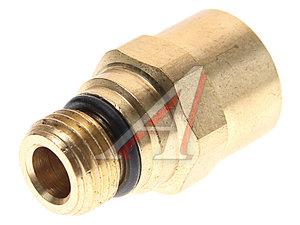 Соединитель трубки ПВХ,полиамид d=12мм (наружная резьба) М14х1.5 прямой латунь CAMOZZI 9510 12-M14X1,5-S, DS6510 12-M14X1,5-S