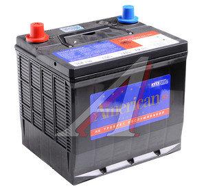Аккумулятор AMERICAN 60А/ч обратная полярность 6СТ60 26R550, 81180