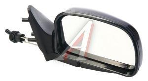 Зеркало боковое ВАЗ-2108 правое антиблик хром ЛЮКС Политех-Р-9рта/СПп, 2108-8201050