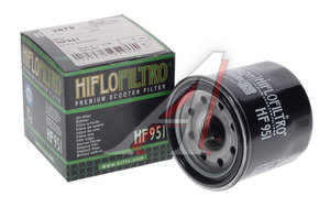 Фильтр масляный мото HONDA Scooter NSS250,SH300i (08-12),FSC400/600 (09-12) HIFLO FILTRO HF951