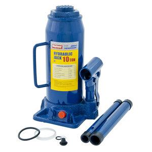 Домкрат бутылочный 10т 230-460мм с клапаном MEGAPOWER M-91004, ДГТ10-3913010-101
