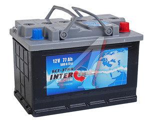 Аккумулятор INTERBAT 77А/ч обратная полярность 6СТ77
