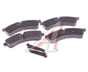 Колодки тормозные IVECO Daily (06-) задние (4шт.) TRW GDB1780, GDB1780/FDP9680/FDP9680T/133900/PF9231, 42555633/986494335