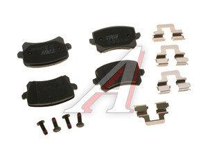 Колодки тормозные VW Passat,Tiguan AUDI A6,Q3 задние (4шт.) TRW GDB1763, 3AA698451/3C0698451F/5N0698451