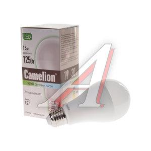 Лампа светодиодная E27 A60 15W (120W) холодный CAMELION Camelion LED15-A65/845/E27, 12197