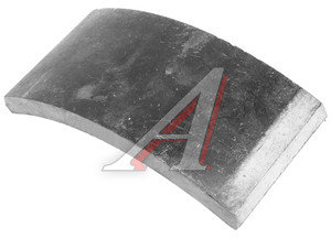 Накладка тормозной колодки МАЗ передней,ЗИЛ-131 Wшир.=100мм;Lдуги=202.5мм;hтолщ.=16мм АТИ 500-3501105, 500-3501105 (п.)